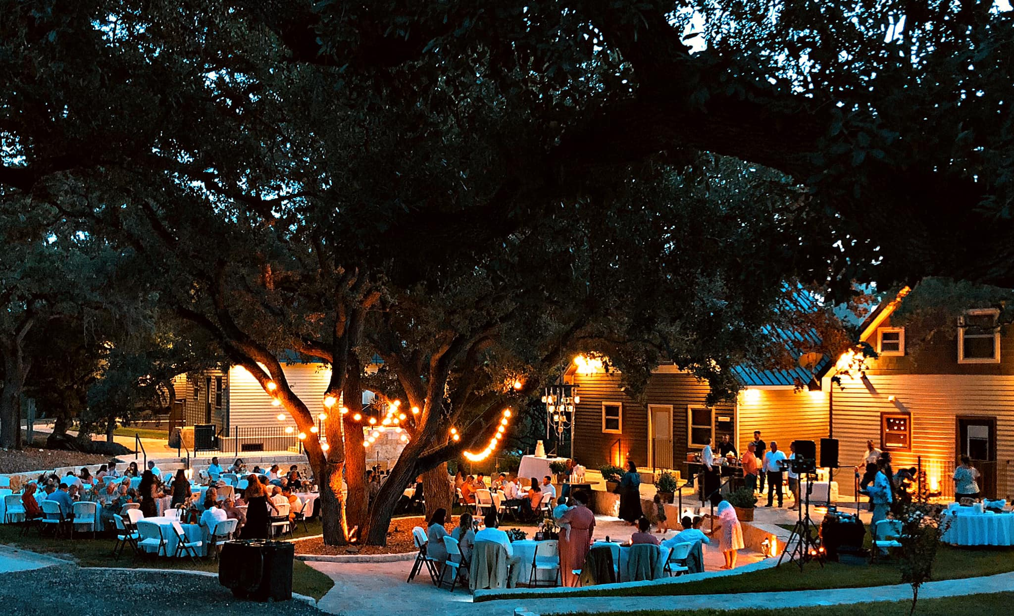 Hill Country Wedding Reception