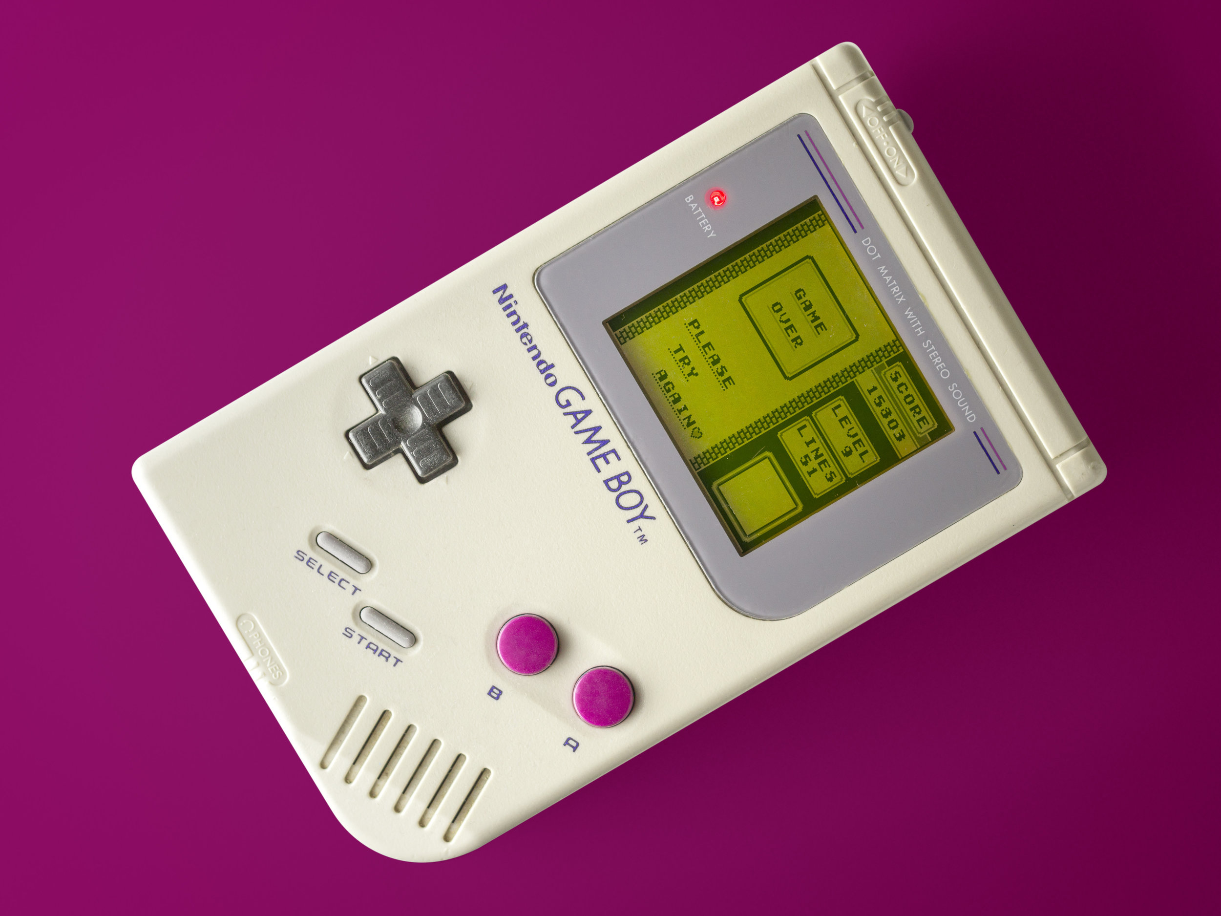 Gameboy - Game Over