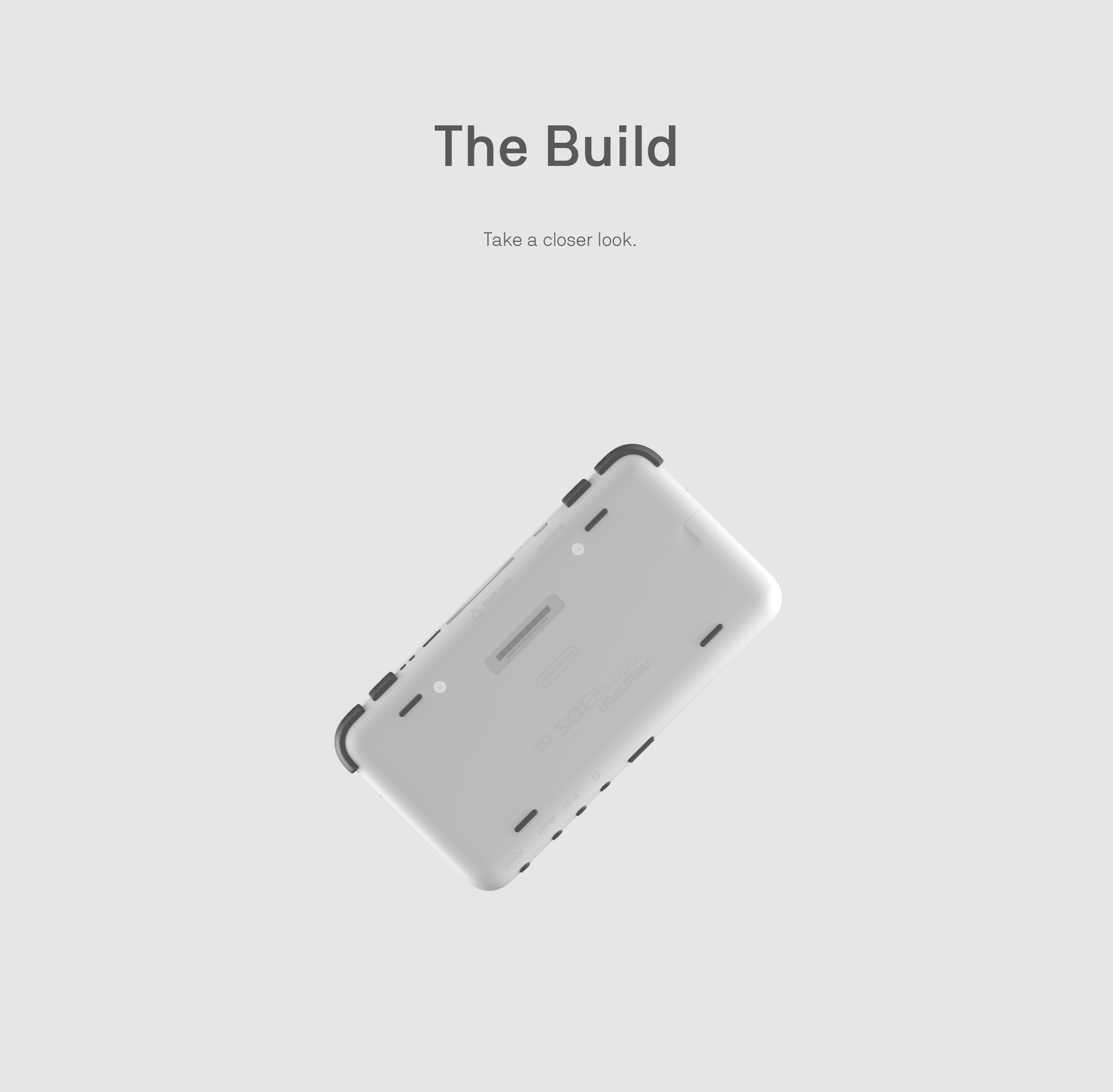 Newnew Nintendo 3Ds XXL - Behance_20 The Build.png