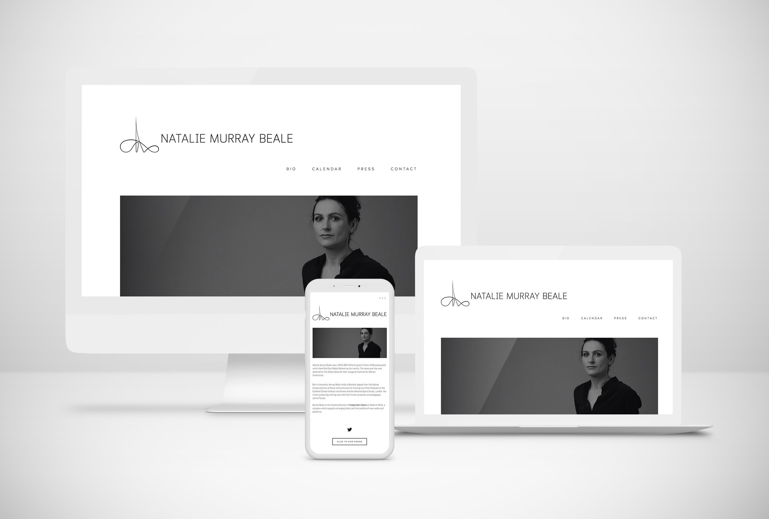 Website Design - https://www.murraybeale.com    Minimalism is understated yet confident and suggests professionalism. Therefore, the design was stripped down to its bare essentials to put focus on the content. The black-and-white colour scheme, simple layout, minimal sans-serif typography creates an air of elegance and sophistication. No unnecessary features or detailing grants effortless usability.