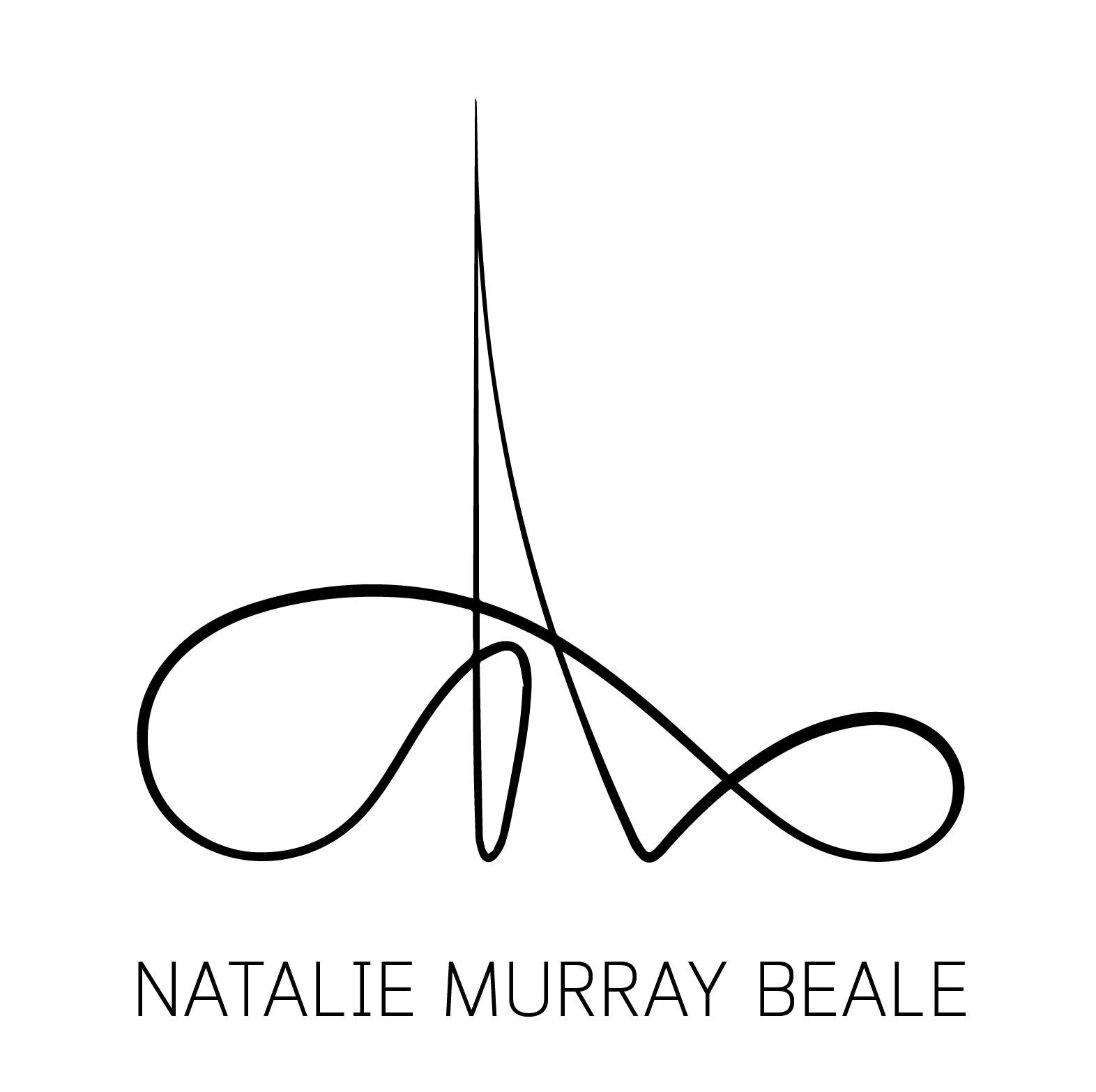 Logo Design for a conductor/creative director Natalie Murray Beale   Both of her roles involve orchestrating and leading the team. Therefore, the logo is a visualisation of a conductor's hand gesture. Shaped as a triangle it also symbolises the trinity of opera, classical and contemporary music.The logo holds a strong conceptual connection with the essence of what she does both on and off stage.