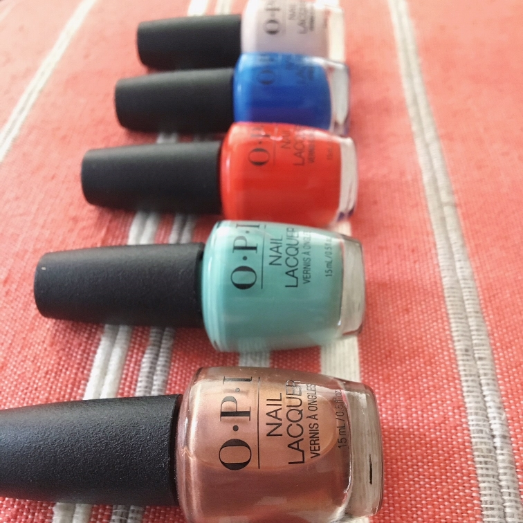 Pictured above- OPI 2018 Lisbon Collection.