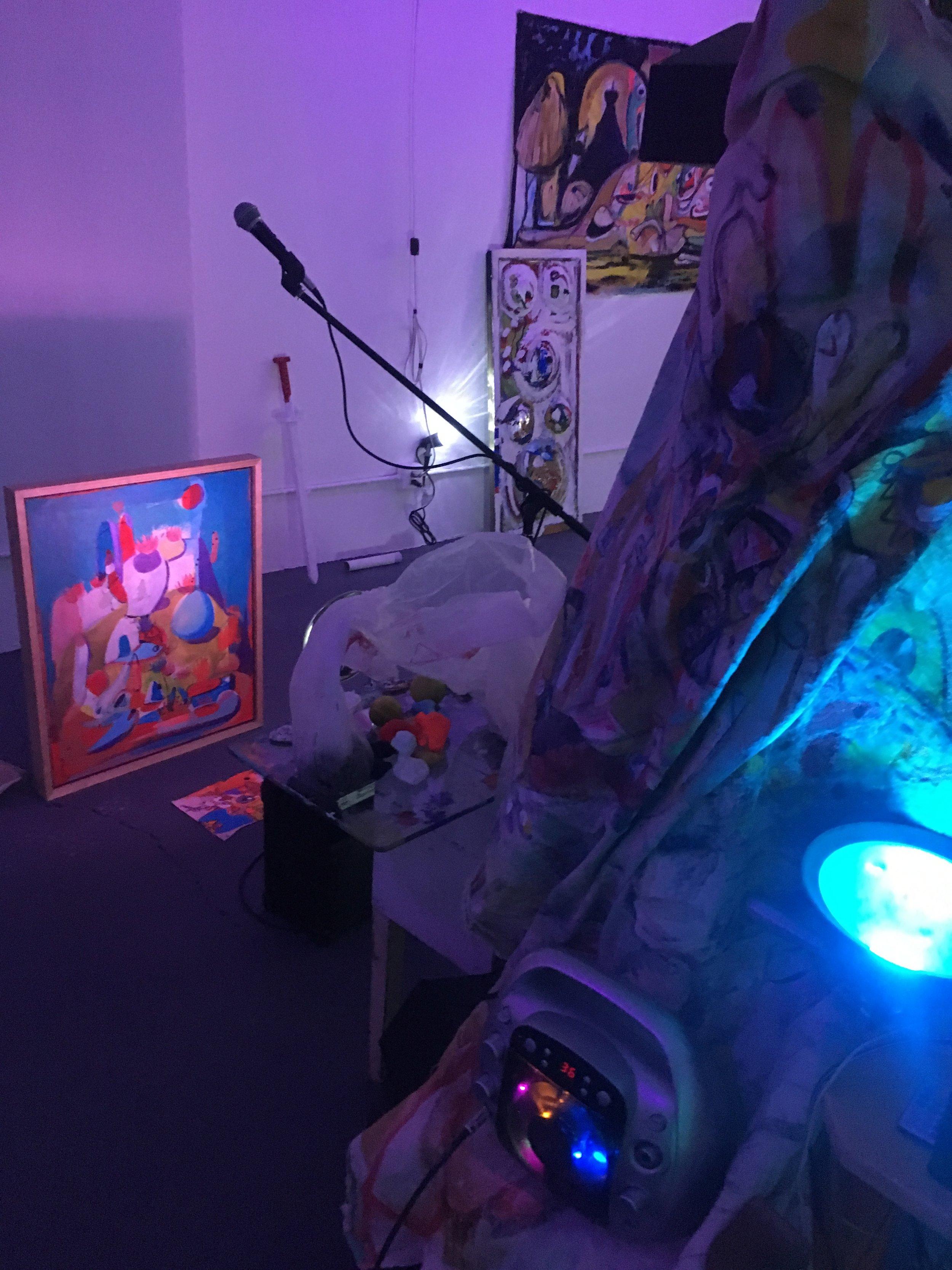 Dream Chatter installation