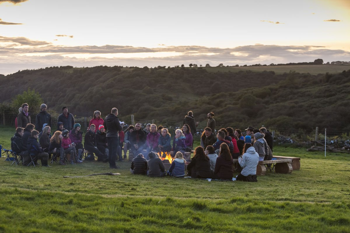 Book launch at Southwest Outdoor Festival, Sept 2017 (photo credit @WylMenmuir)