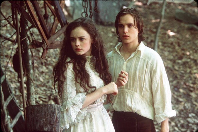 Winnie Foster (Alexis Bledel) and Jesse Tuck (Jonathan Jackson) in the film adaptation of Tuck Everlasting (2002)