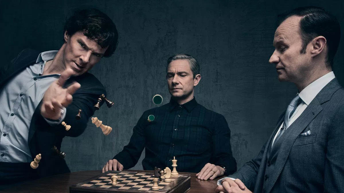 The  Sherlock  series, adapted from the famous novels by Sir Arthur Conan Doyle