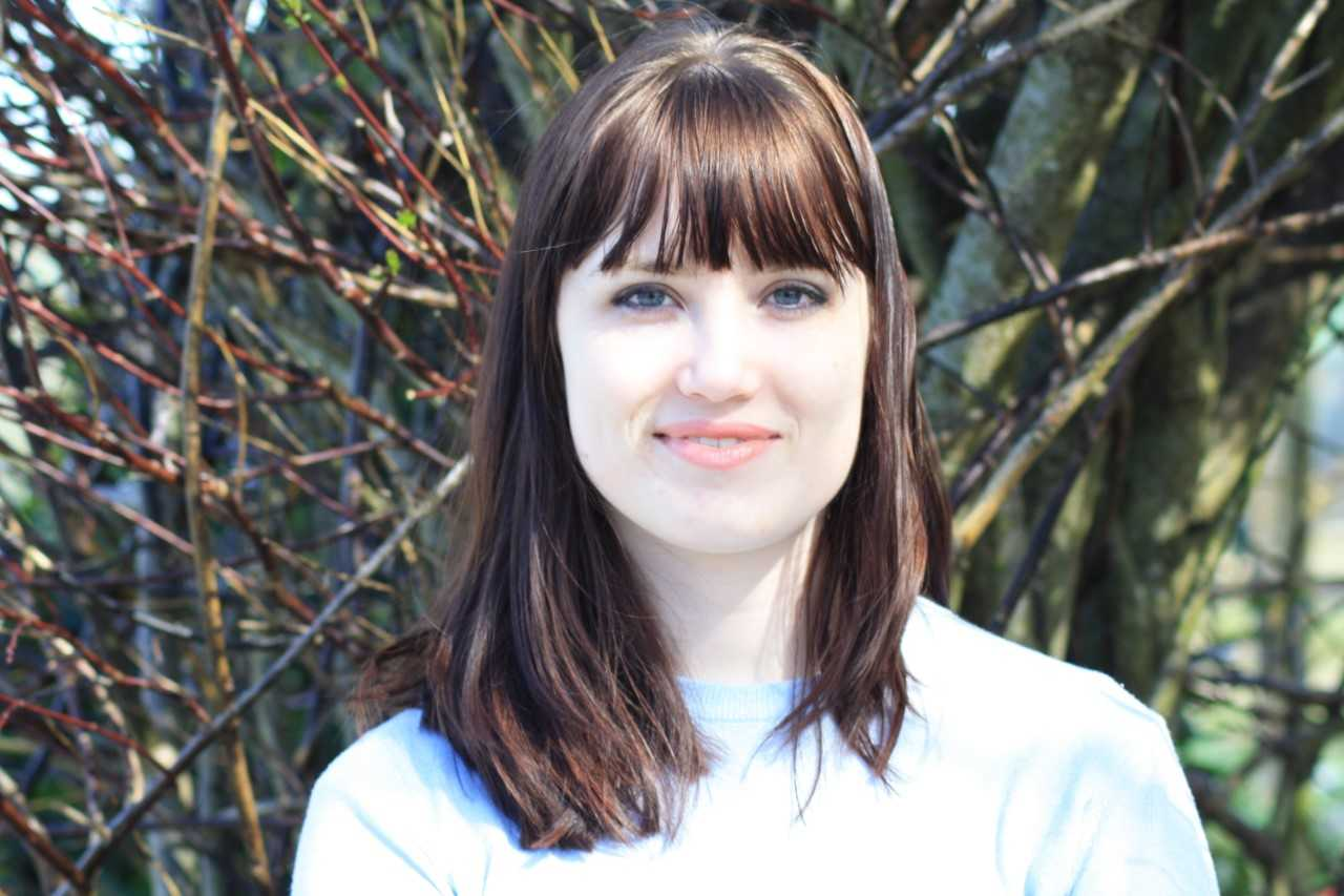Kate Williams, 2017 graduate in English and Creative Writing