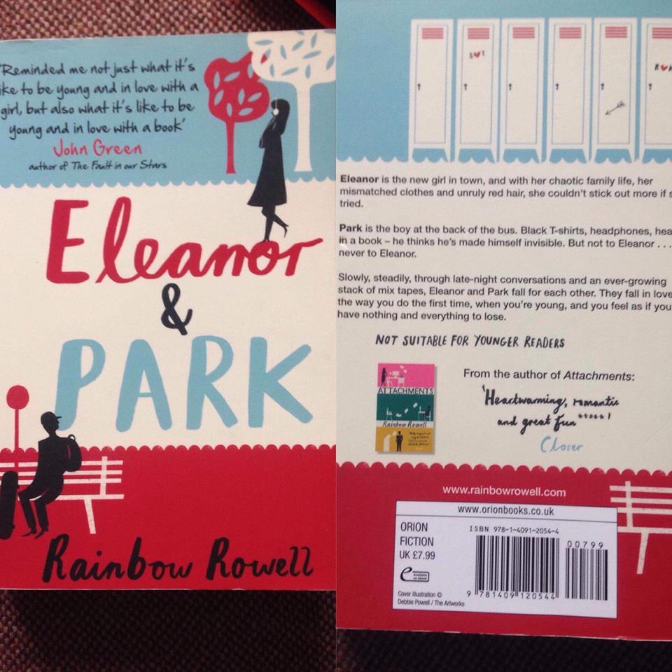Rainbow Rowell's  Eleanor and Park.