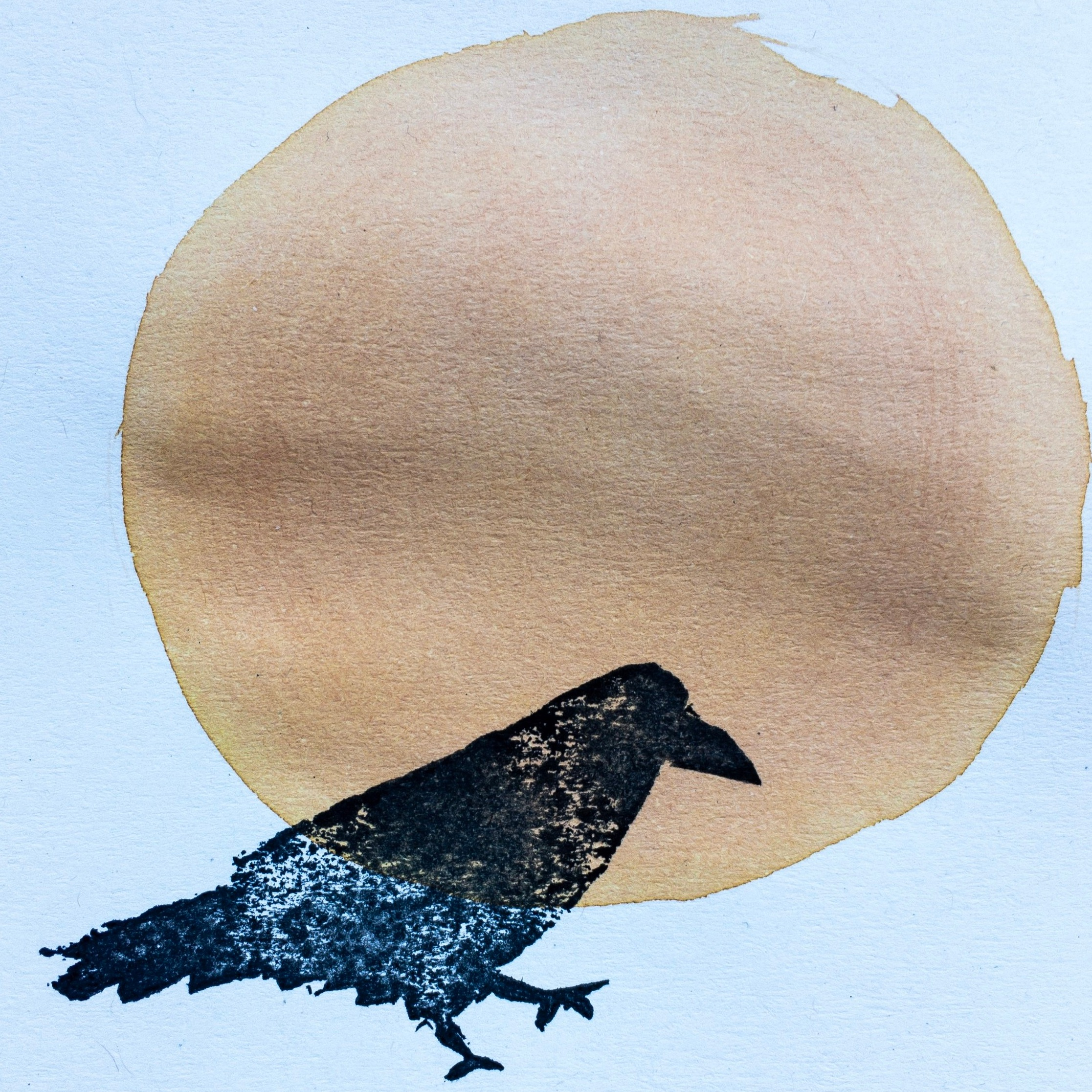 Rook , print by Jess Henshall