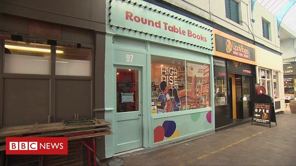 Round Table Books, the bookshop project by Knights Of. [BBC News/2019]