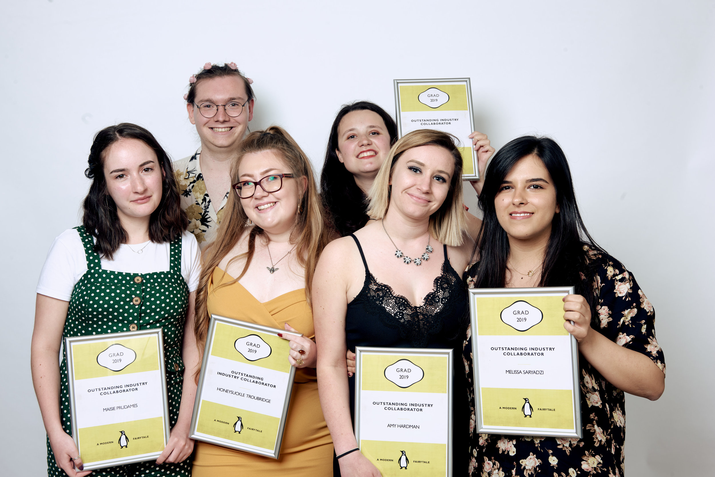 Our own Falwriting Team, including Student Editor Daniella Ferguson-Djaba who couldn't attend the night, also won an award. We're tearfully proud!