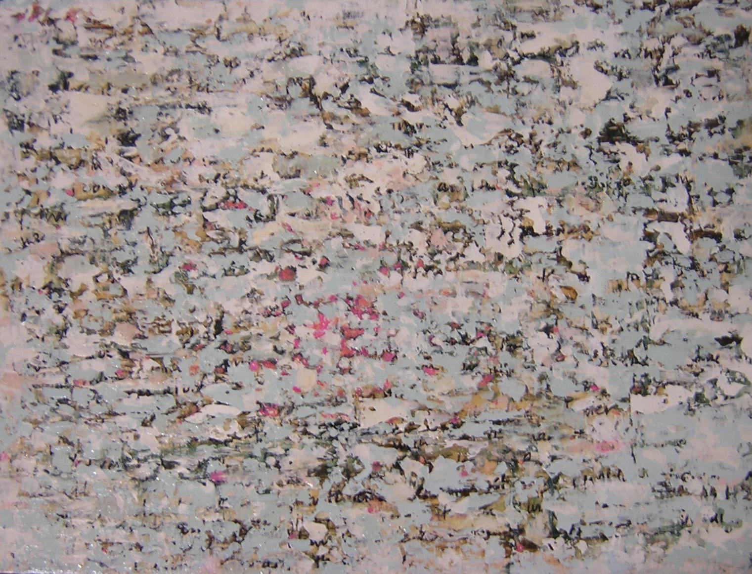 "DEAR DIARY 4: SEAGULLS SOUND LIKE SEX   , 2004,  20¾ "" x 15¾ "" x ¼"", mixed media on wood"