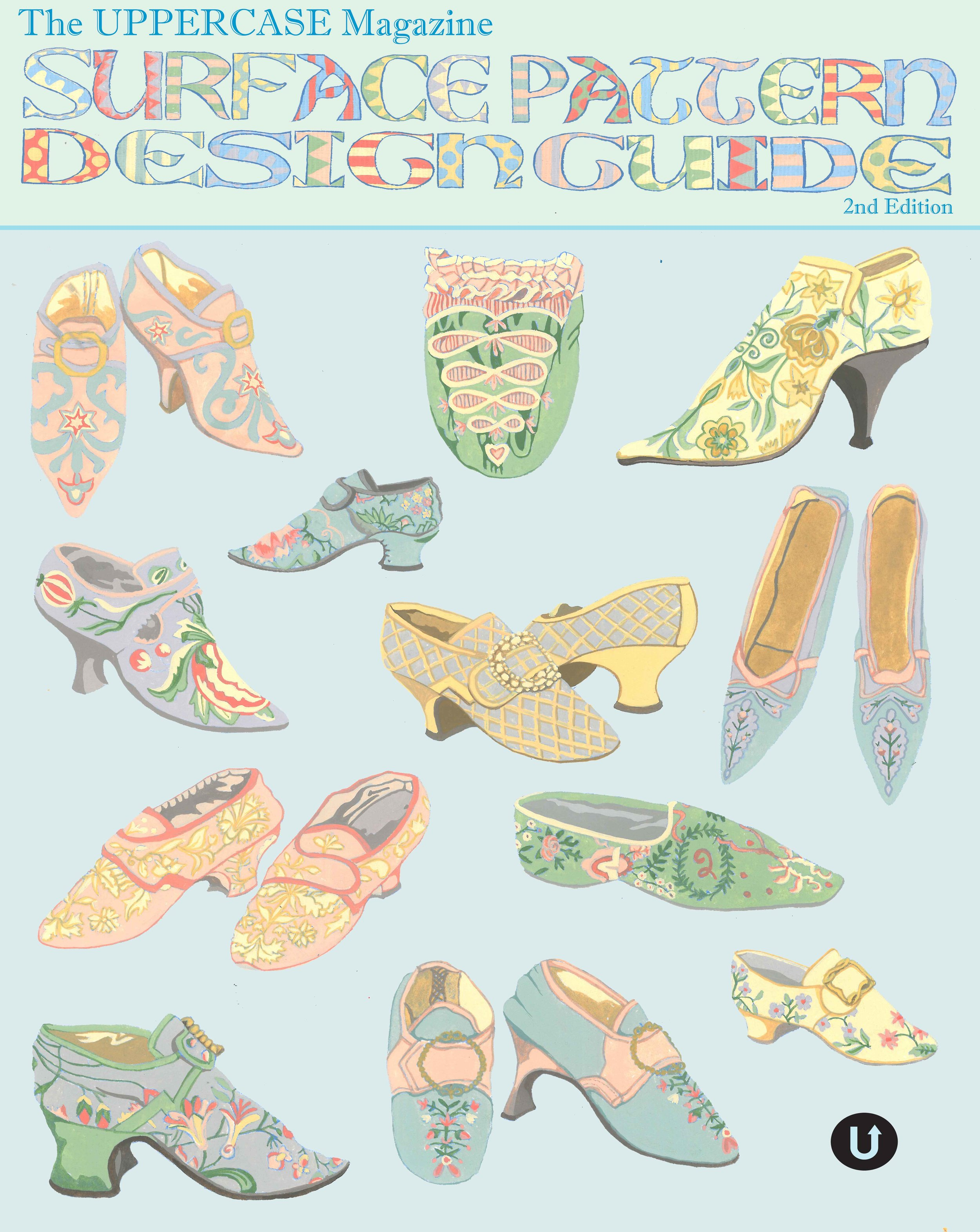 Surface Pattern Design Regency Shoes & Boots