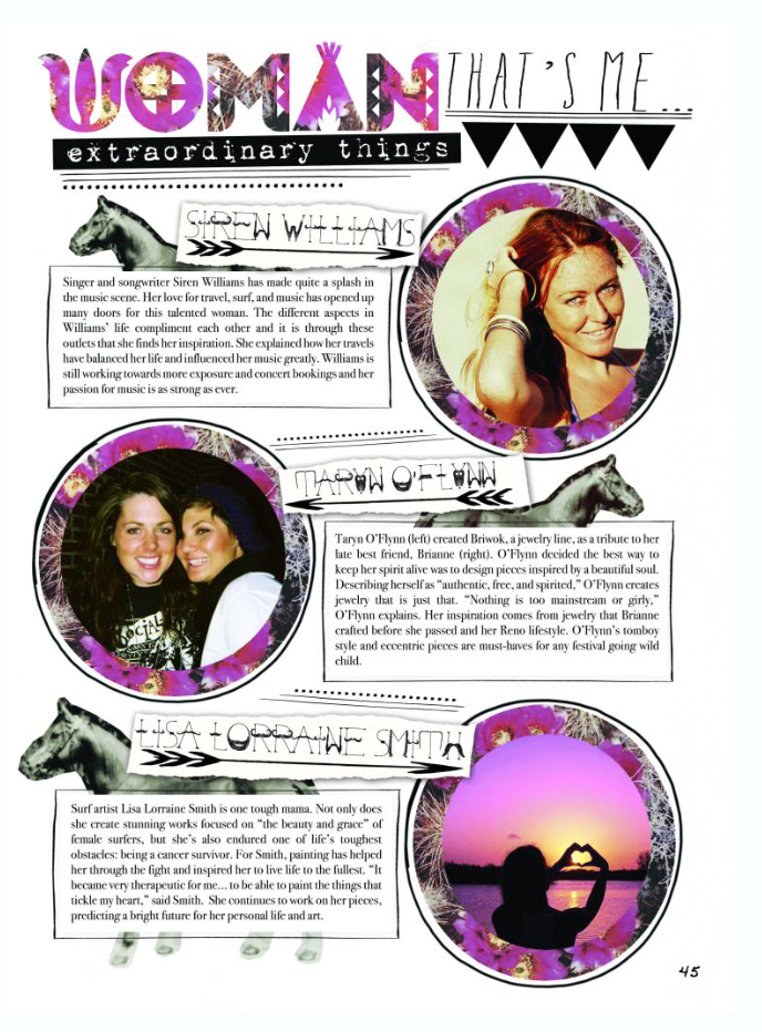 """DISfunkshion Magazine featured this little clip in their """"extraordinary things"""" category in 2013."""
