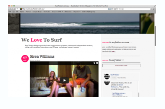 Music Review by Australia's SURF SISTER MAGAZINE