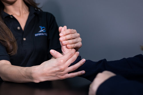 Hand and Wrist Pain Therapy - Hand therapy is the art of evaluating and treating pain, injuries, and serious conditions of the upper extremity. This includes shoulders, arms, elbows, forearms, and wrists. Our goal is to help patients resume activities of daily living…