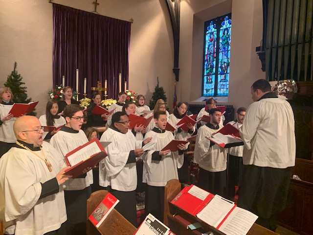St. Peter's Choir along with special guests for our Festive Lessons and Carols December 2018