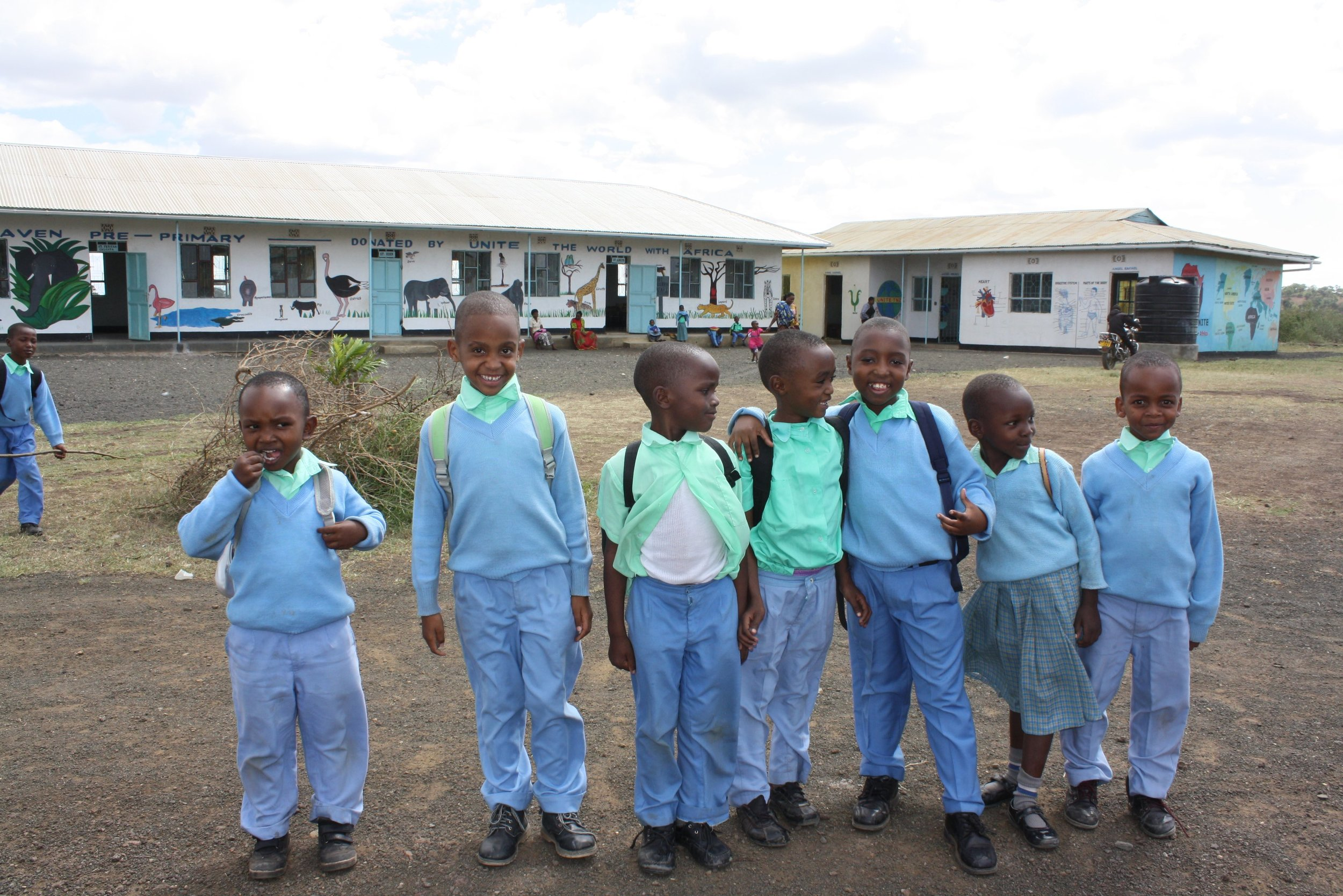 heaven kids in front of school.jpg