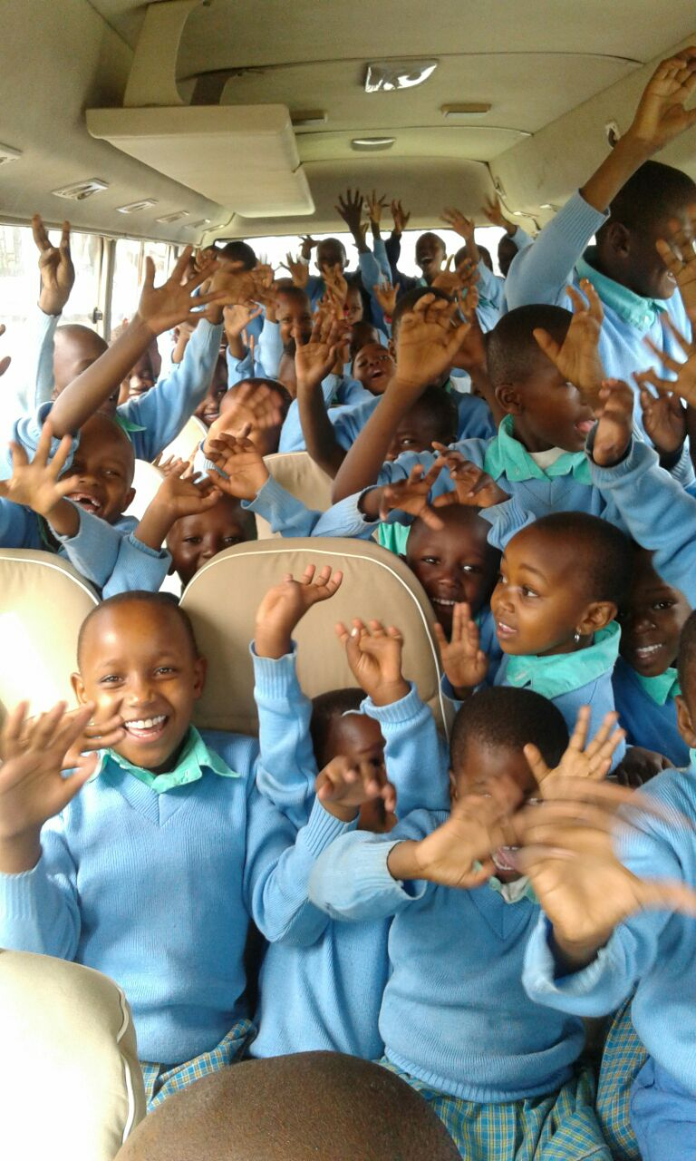 The new school bus is already overflowing.... Thanks to an extraordinary student enrollment, we now need a second bus!
