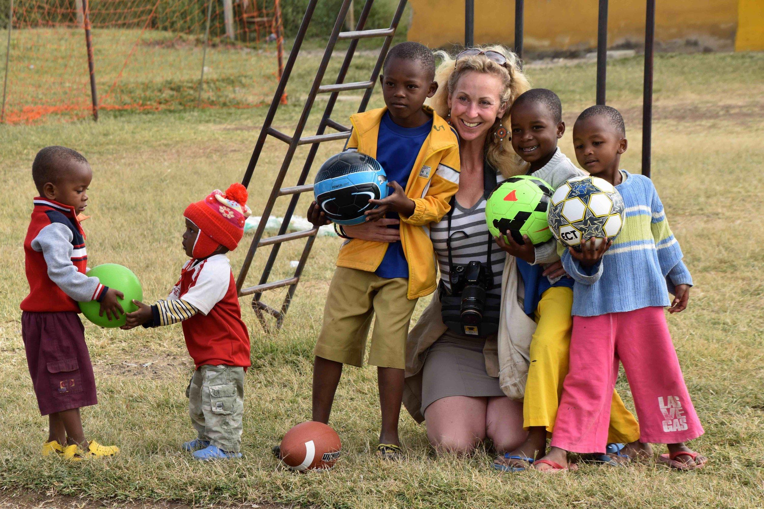 anne with sjo kids.jpg