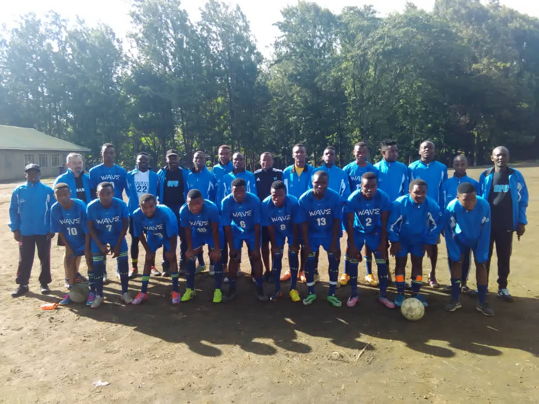 Blue Wave from Darien, CT, reaches the soccer teams of  Future Stars Academy  in Arusha, Tanzania.