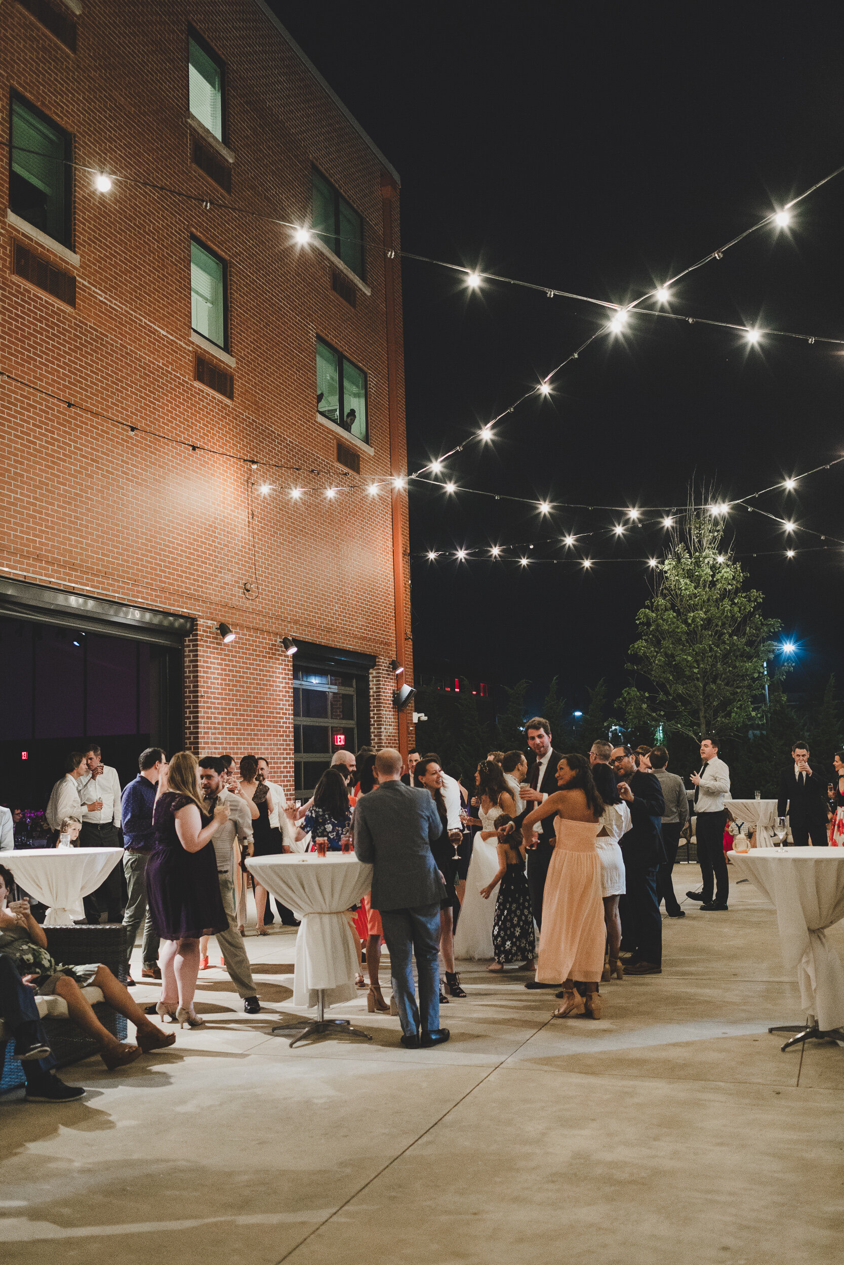 Colorful wedding at The Asbury Hotel in Asbury Park, NJ