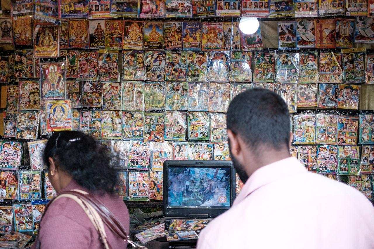 Copy of store full of bollywood movies sri lanka