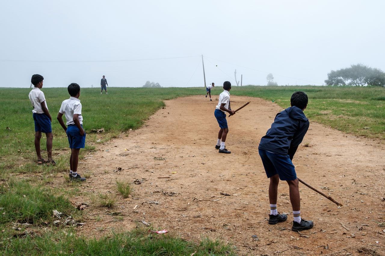 Copy of school boys playing cricket in haputale sri lanka