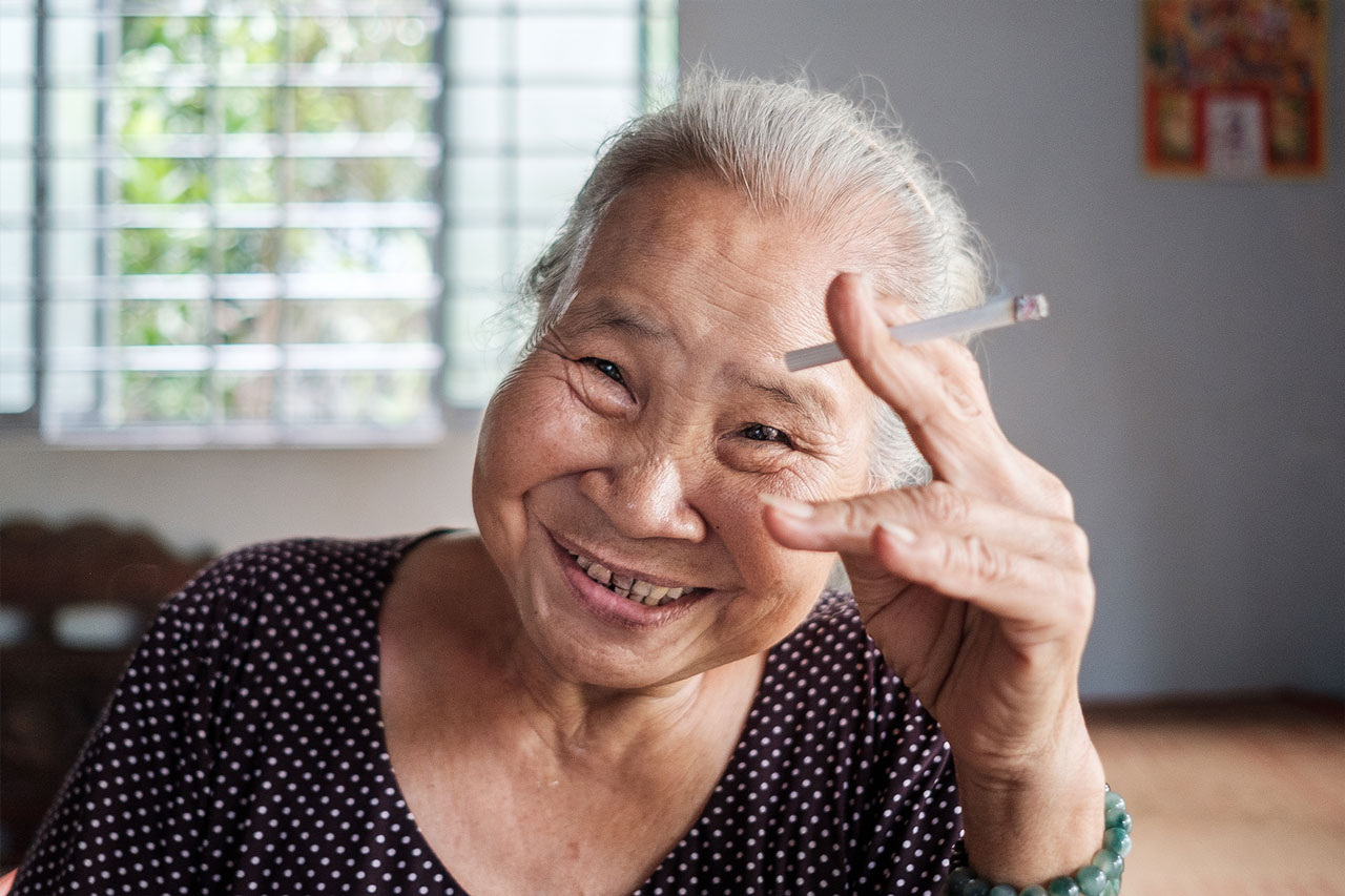 Copy of portrait vietnamese woman smoking cigarette kulturhybrid