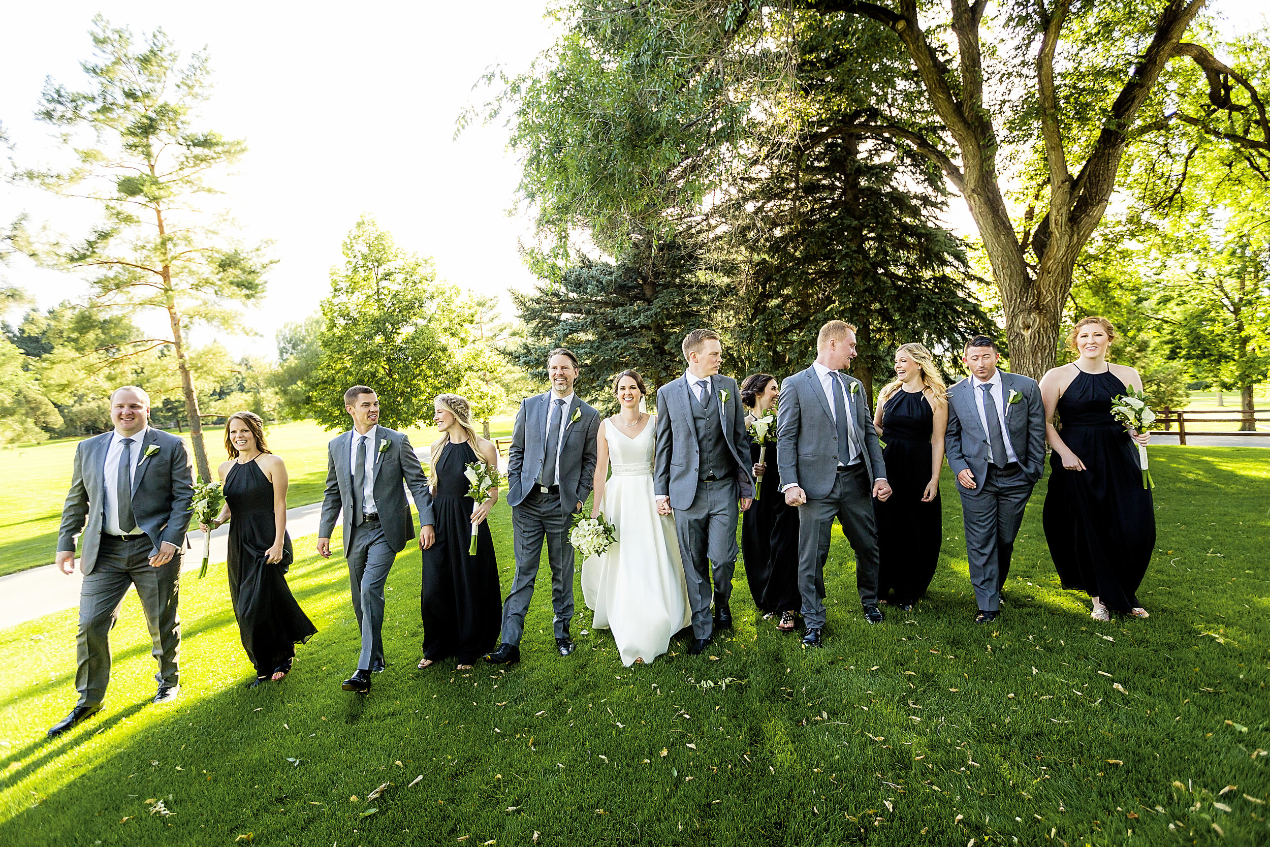 Weddings - $3,200 wedding photography service which includes two photographers, unlimited day-of shooting, an online proofing gallery, and a USB of images with rights to share and print images as you wish.