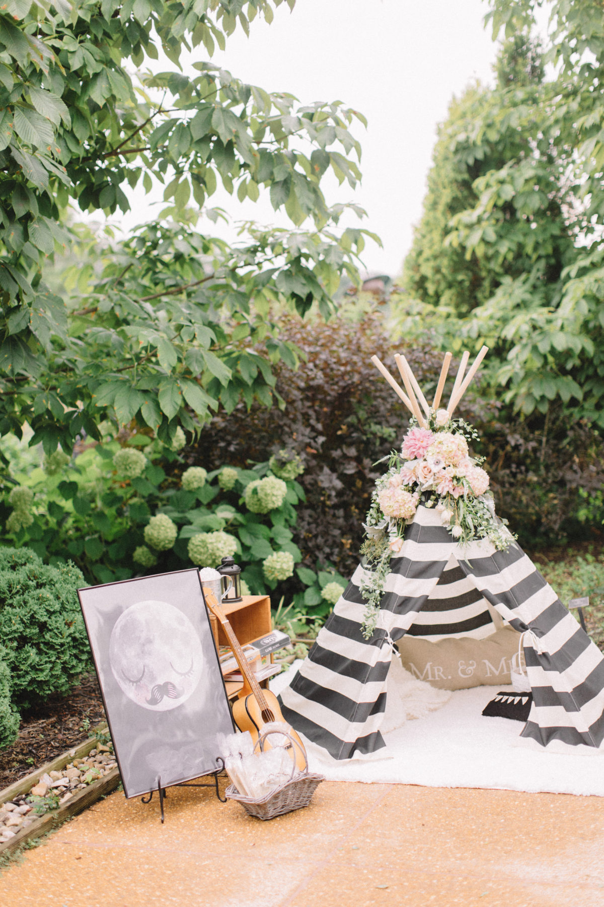 whimsical country wedding - style me pretty