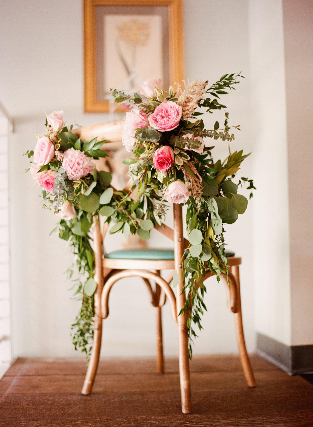 flower bridal brunch - style me pretty