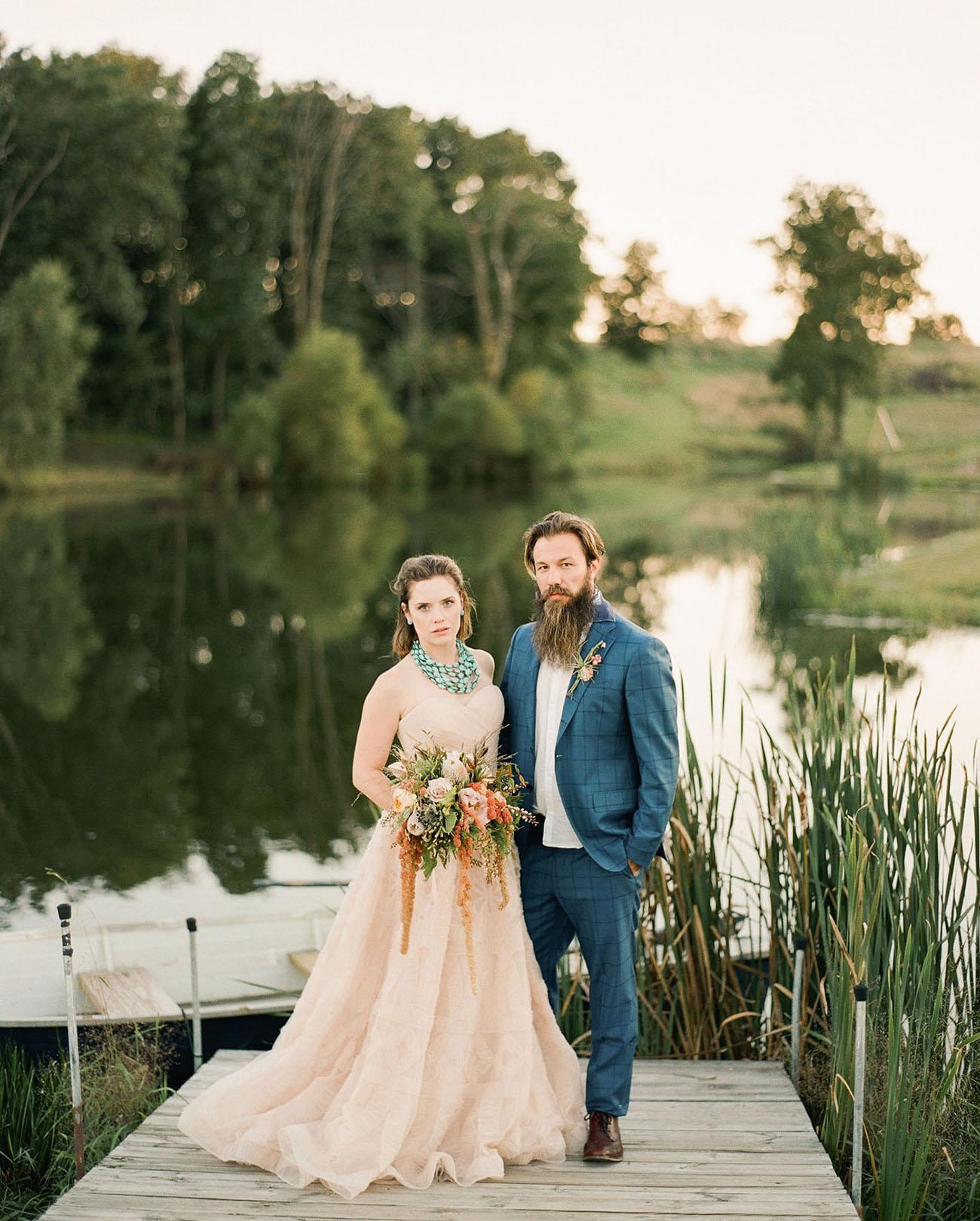 southwest wedding - green wedding shoes