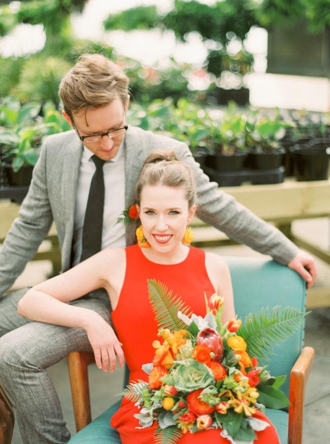 greenhousewedding - trendy bride