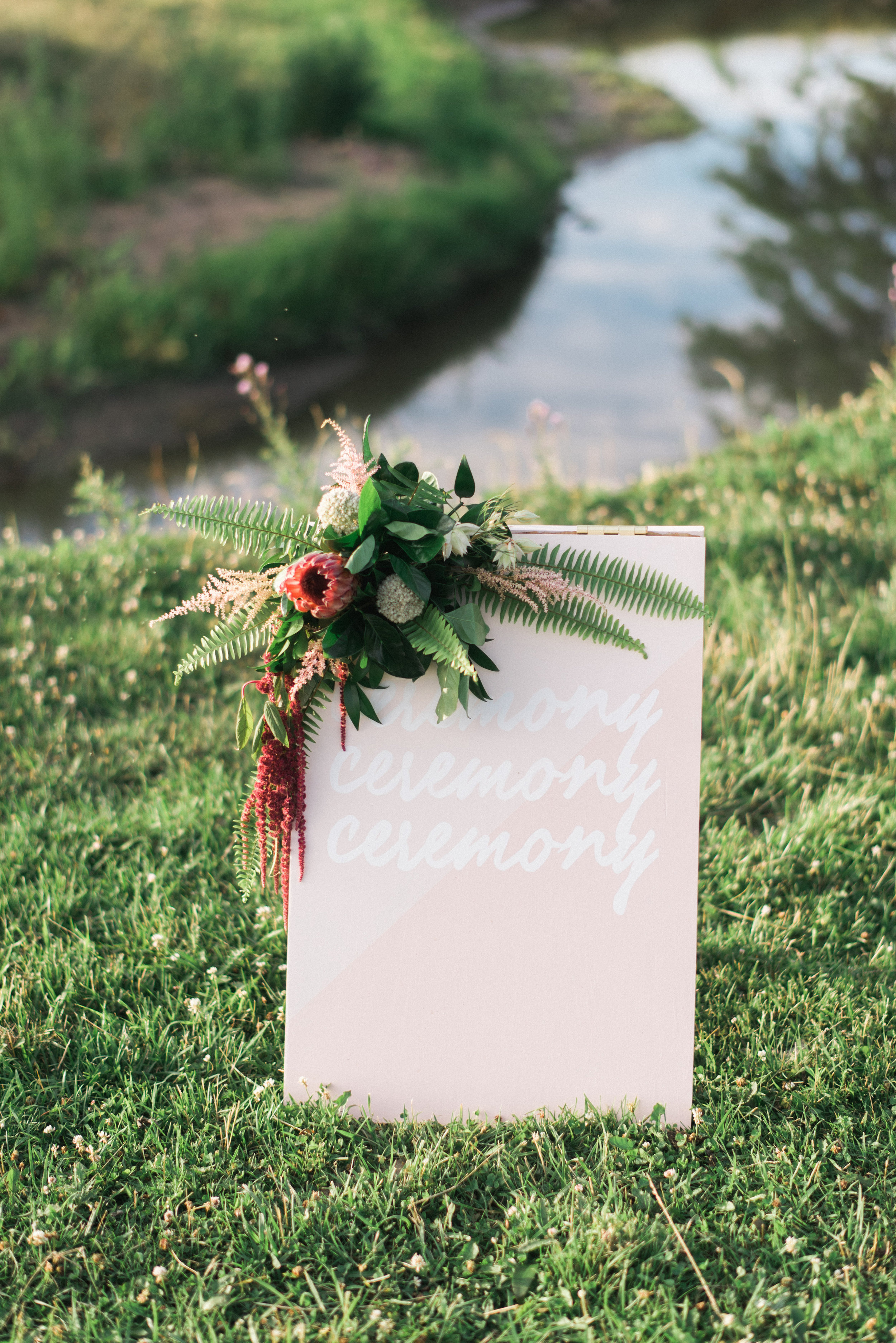 lauren + austin's outdoor wedding - design sponge