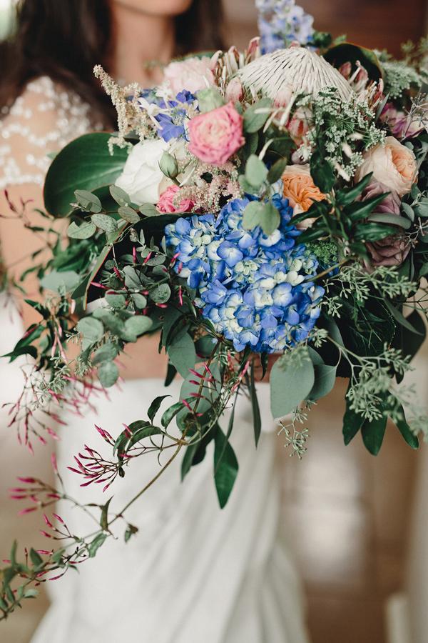 romantic iowa wedding - ruffled blog