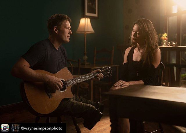 """Repost from @waynesimpsonphoto - A beautiful moment with @patrickdanderson and @anna.paddock also known as @thelayawakes. They sound so amazing together! Check out their latest album """"Home Away from Home"""" at thelayawakes.com  Thanks so much to @markheinephotos for assisting!  #sigmacanada #lostandfoundcafeeloraontario #canadianmusician #portrait_vision #iso1200magazine #iso1200portraits #canadiancreatives #irimages #elorabia #fergusontario #moodyportrait #eloraartist #eloraportraitphotographer"""