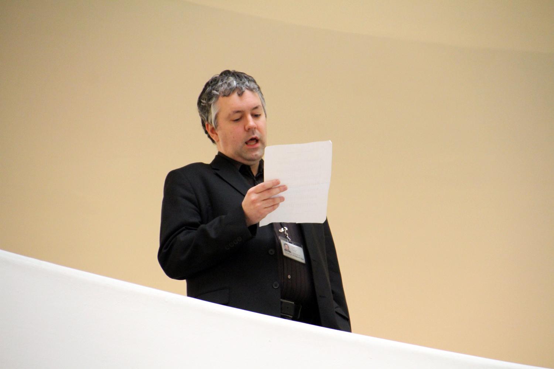 Curator_Nat_Trotman_singing_oldest_song.jpg