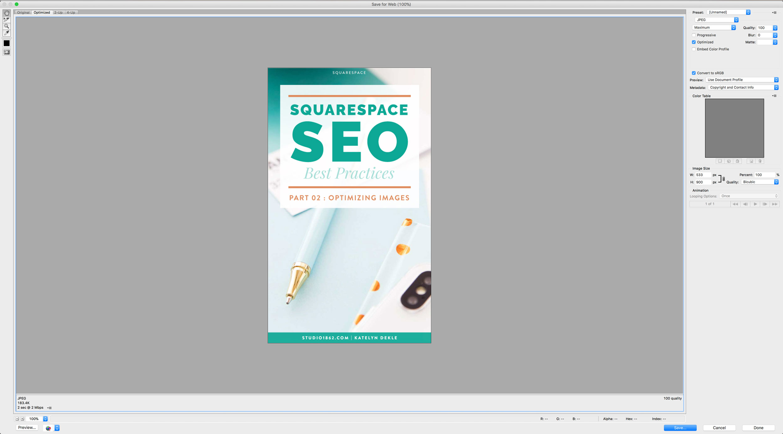 S1862_Squarespace-How-to-Optimize-Images-Using-Preview_Screenshot_SaveForWebOptionsPhotoshop.png