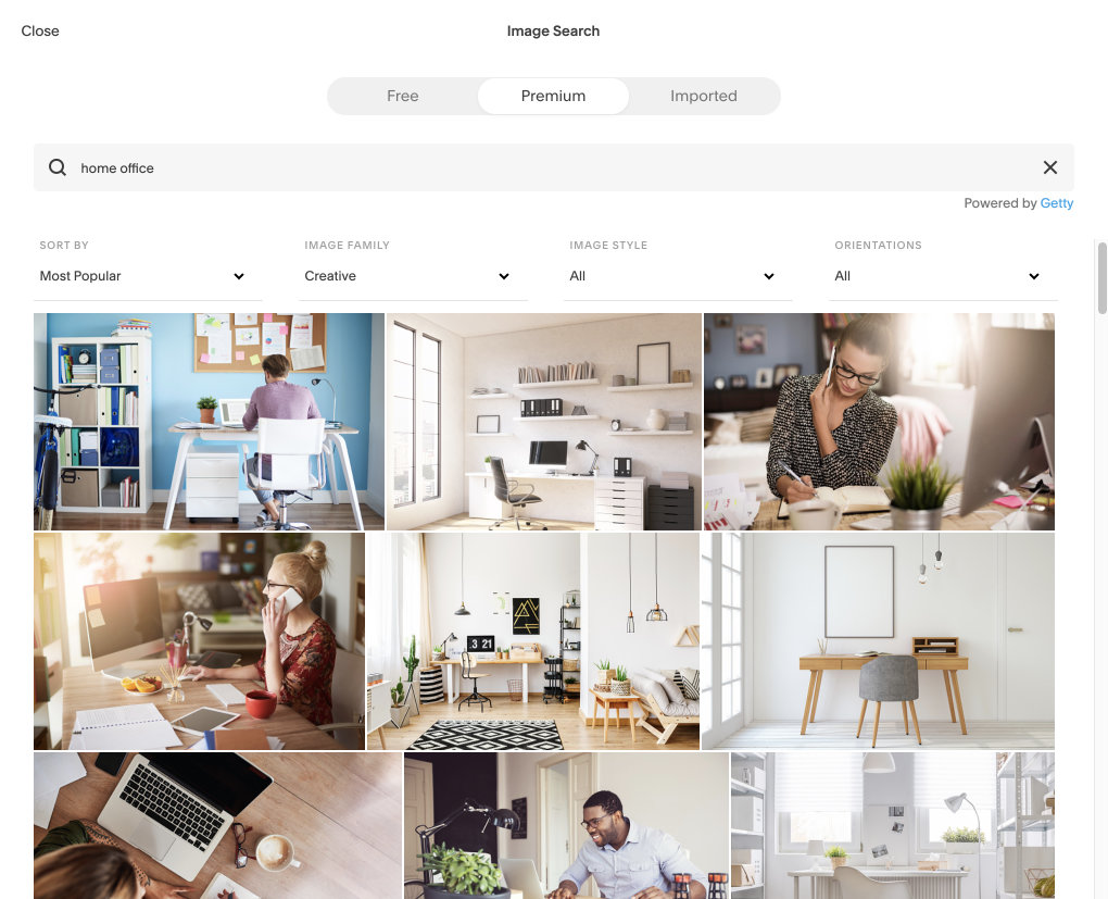 PAID stock images by Getty