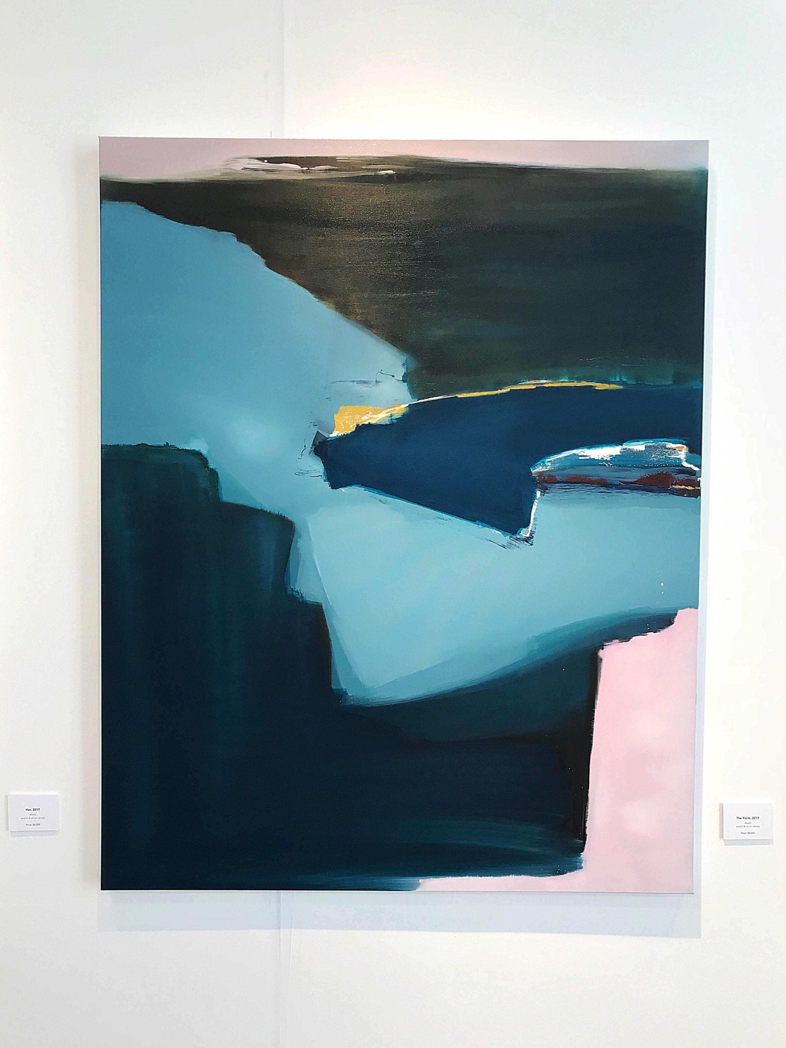 The Form 48x60 acrylic and oil on canvas $4,000.JPG