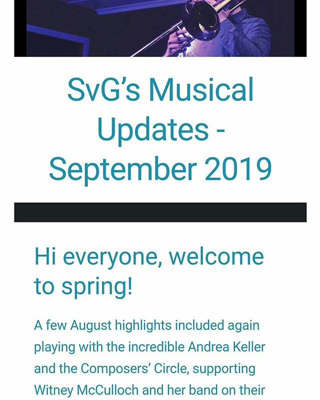 September Mailing List out now! 🔥 Sign up at: scottvangemertmusic.com/contact 😎🎶
