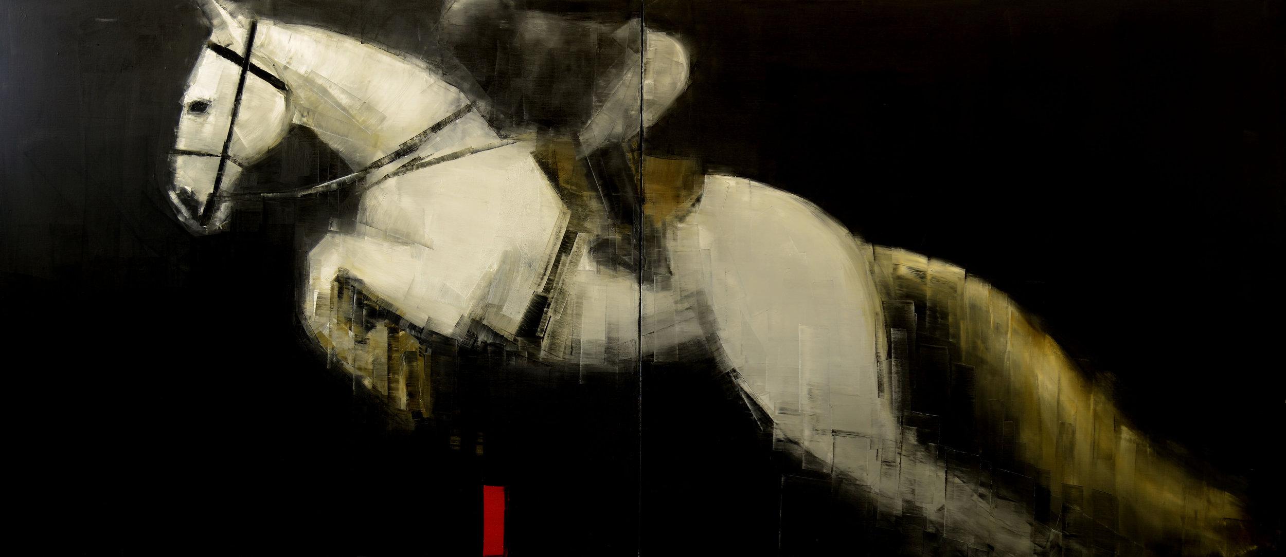 Rebecca Kinkead (WHITE HORSE AND RIDER)_33x30.jpg