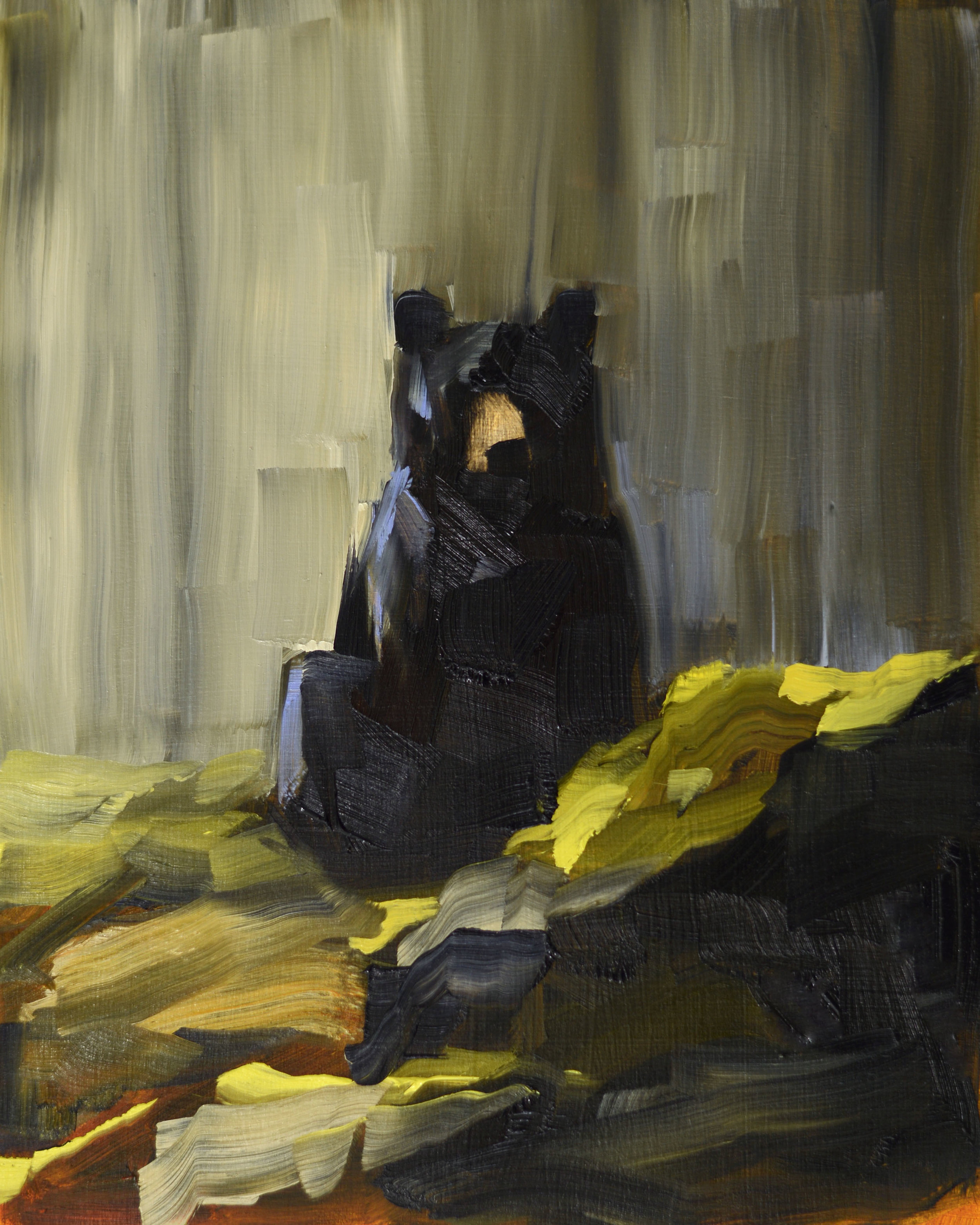 Black Bear Contemplating Spring_10x8 (1).jpg