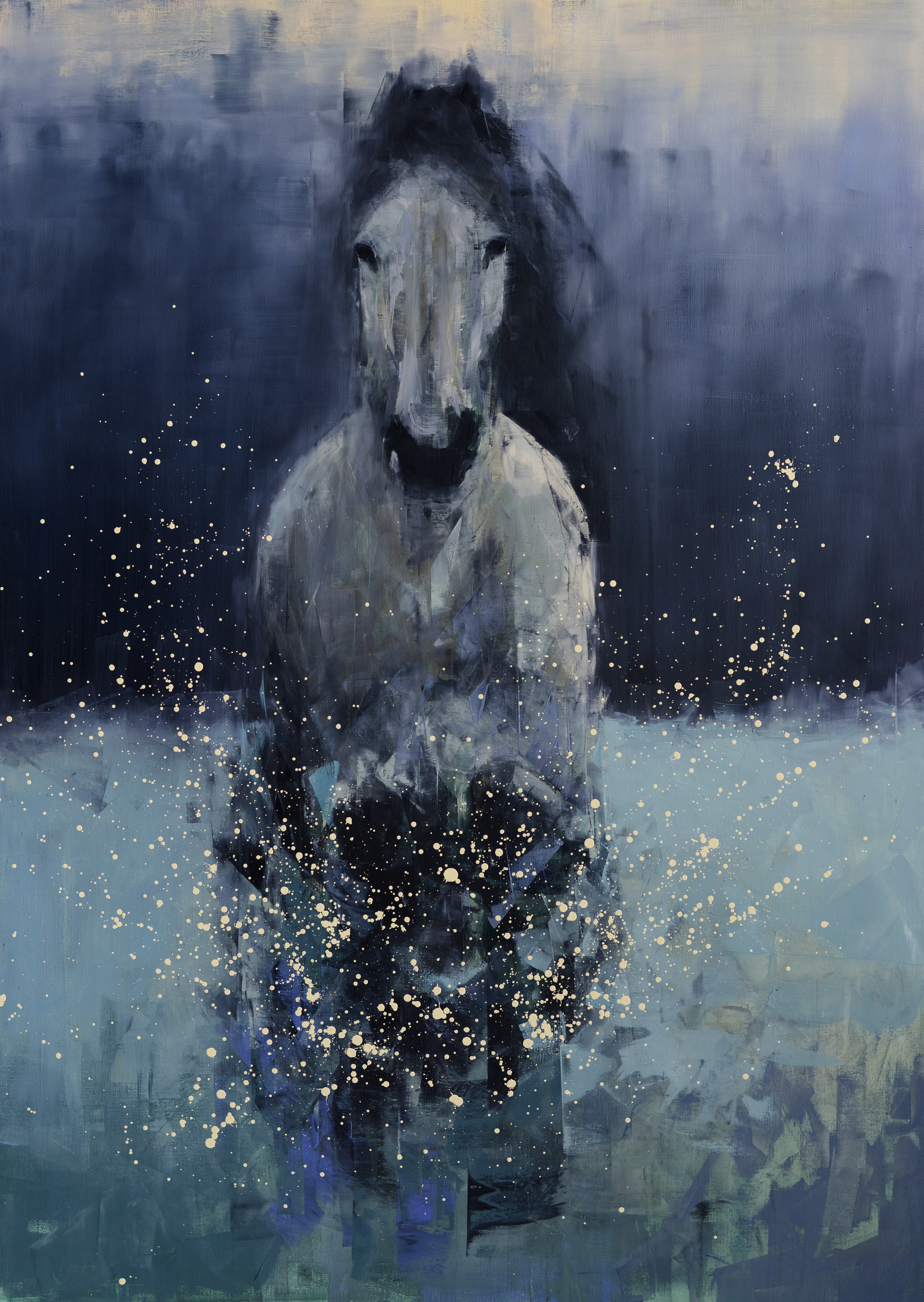 Running Horse (Deep Snow)_70 x 50.jpg