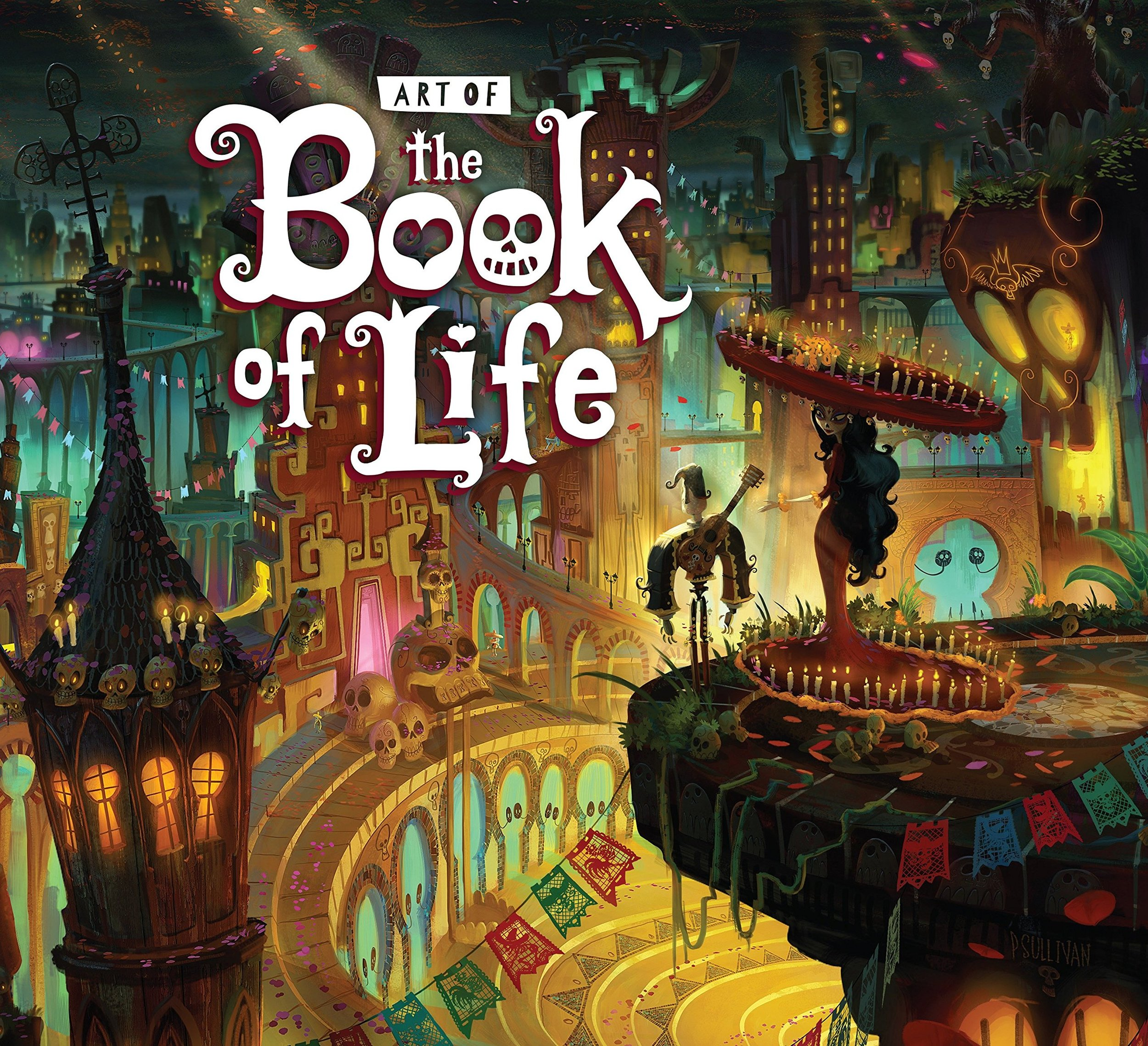 Book of Life cover by Paul Sullivan.