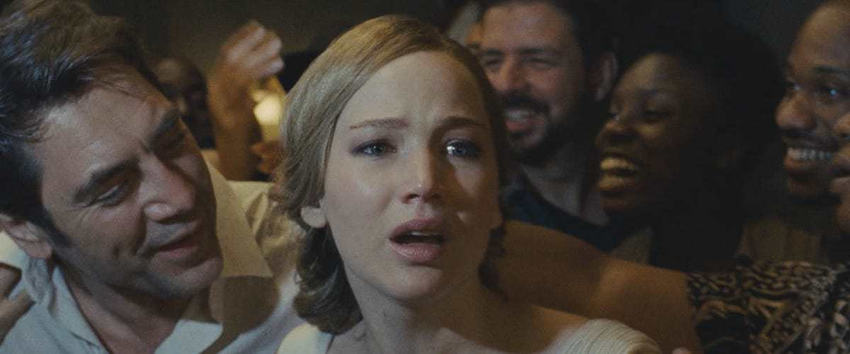 Jennifer Lawrence and Javier Bardem star in Darren Aronofsky's newest film.