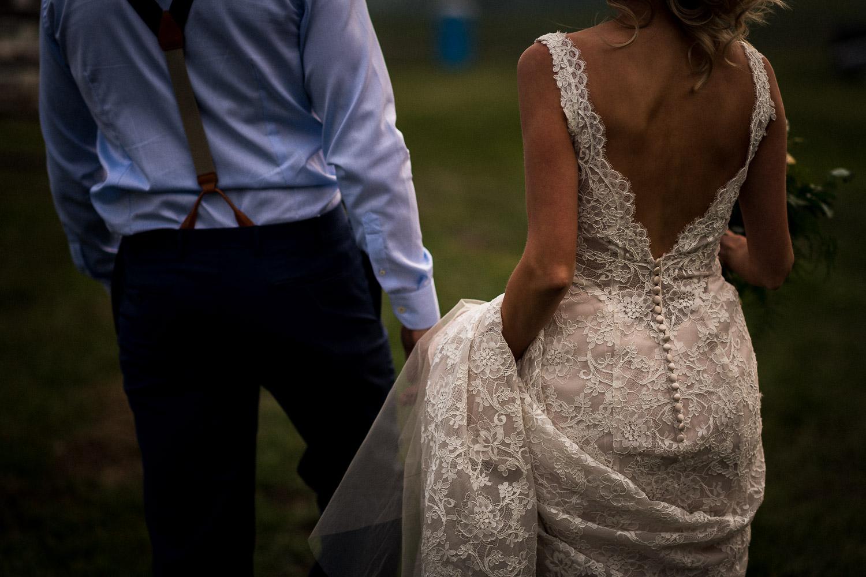 Alberta Intimate Farm wedding calgary banff wedding photographer elopement versace dress