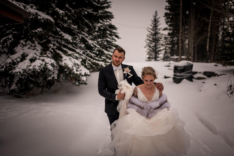 Stewart Creek wedding First Look
