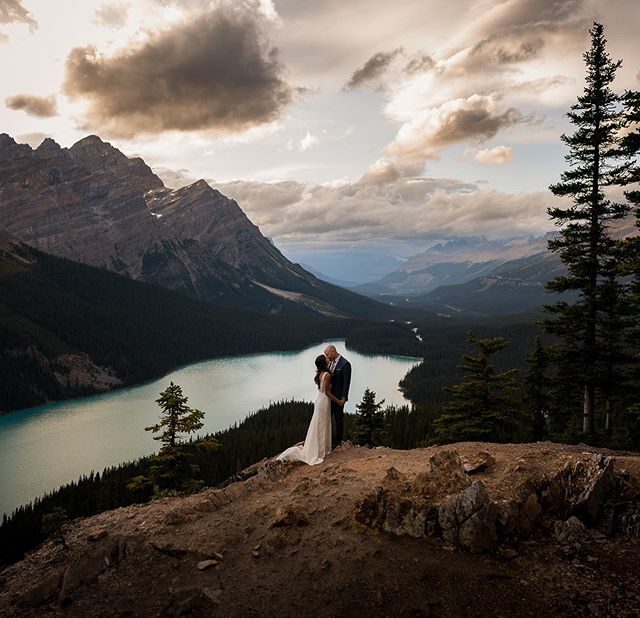 I was super happy when I found out that the Peyto view point was going to be open for Melissa and Chris. We had discussed doing the elopement at Peyto almost a year ago and didn't think it would happen. Lucky for us the construction was delayed and we could bring the vision to life. Im not sure there is a better spot to exchange vows at. . . . . . . . . . . #elopementcollective #canmoreweddingphotographer #adventureweddingphotographer #lookslikefilm #loveandwildhearts #forthewildlyinlove #peytolake #explorecanada #authenticlovemag #couplesgoals #banffwedding #photobugcommunity #destinationwedding #calgaryweddingphotographer #lakelouiseweddingphotographer #mountainelopement #dirtybootsandmessyhair #adventurouswedding #elopement #adventurouslovestories #junebugweddings #huffpostwedding #intimatewedding #rockymtnbride #yourockphotographers #banffweddingphotographer #forthewildlovers #lookslikefilmweddings #intimatestorytellers #destinationweddingphotographer